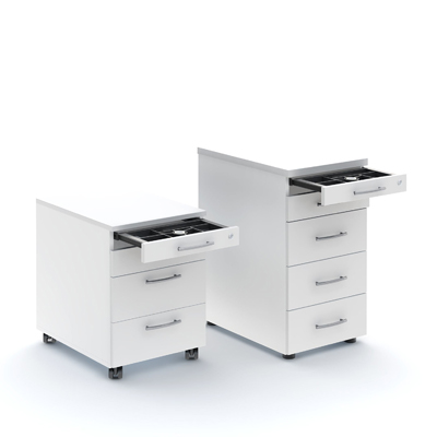 Standard drawers unit